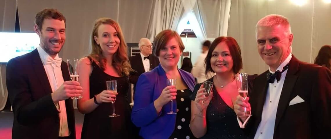 Larking Gowen national runners up in Workplace Wellbeing Award