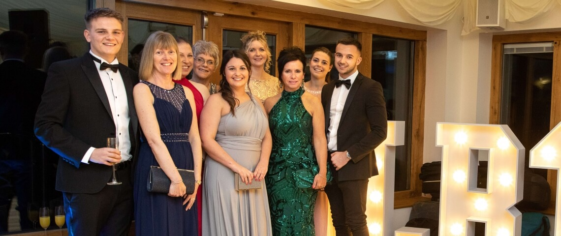 Accountants charity ball raises £4780 for local good causes
