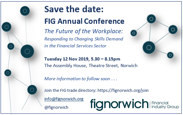 FIG Annual Conference 2019 Save the Date – 12 November