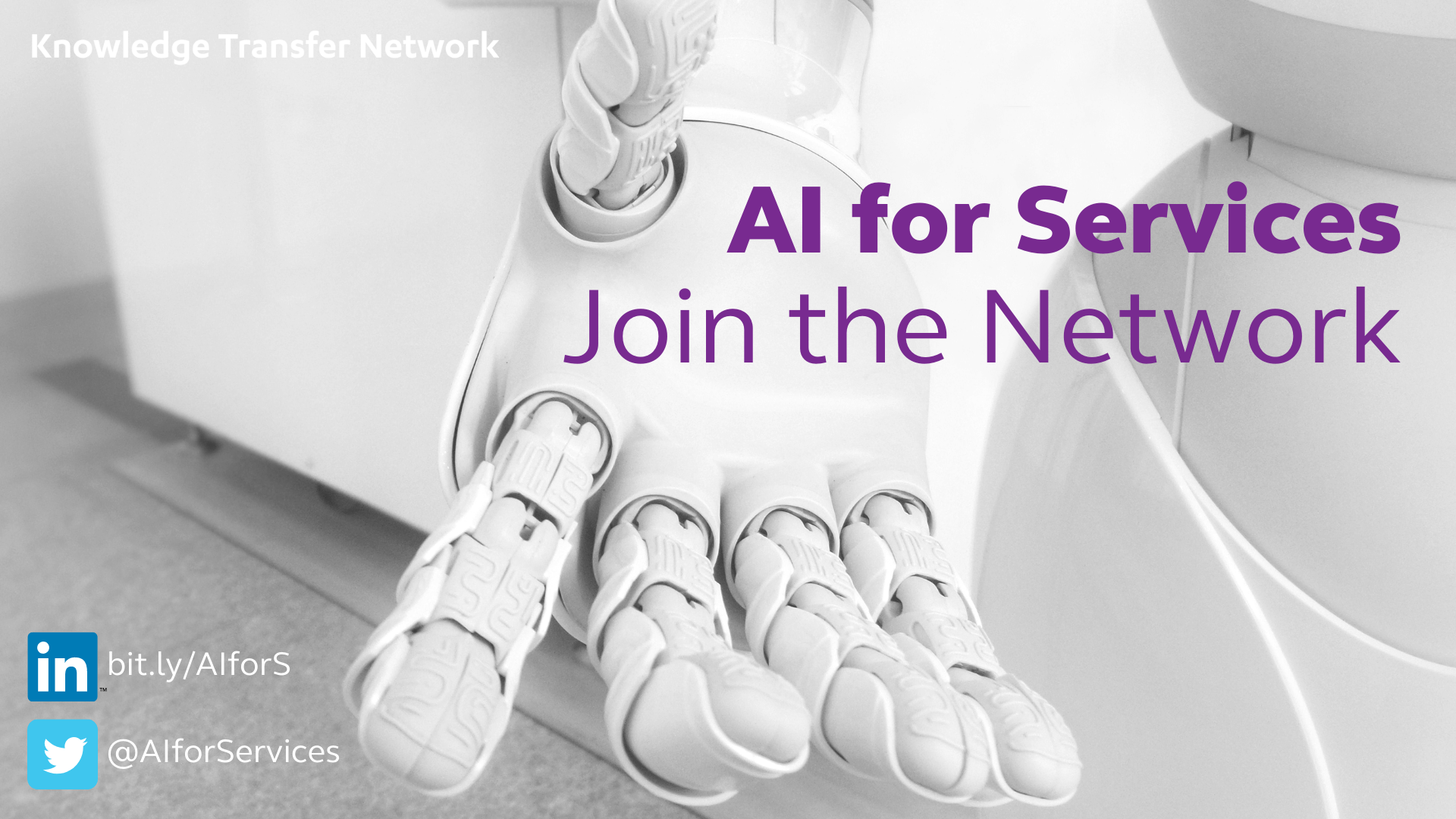 AI for Services: Join the Network