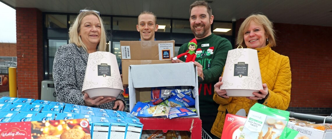 Aldi steps in to boost local firm's efforts to support Great Yarmouth Open Christmas