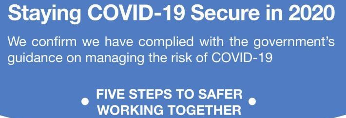 Making your Business COVID-Secure – Free Compulsory Risk Assessment